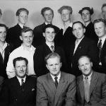 Deltakere på et skips-radiotelefonistkurs
