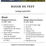 Påminnelse: Lørdag 5.juli 2014 arrangerer GBF basar og fest på Grøtavær