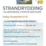 Strandrydding i skjærgården 10. september